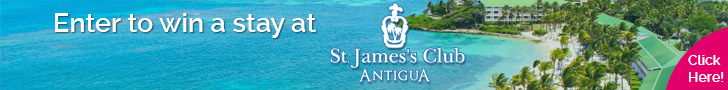Enter to win a stay at the  St. James's Club Resort & Villas, Antigua!